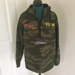 Stickerei jacken online-Camouflage Travis Scott AstroWorld Jacken Männer Frauen Camo Stickerei AstroWorld Fashion Casual Jacke Mäntel