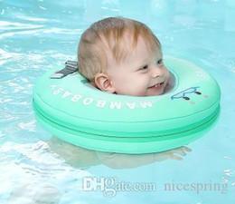 2019 lifesaving armband Mambo Sicherheit Baby ohne Aufblasbares Schwimm Hals Ring Runde Schwimmring Baby-Swimmingpool-Zubehör Hals Schwimmer