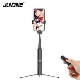 Bâton selfie pour téléphone portable sans fil Bluetooth, trépied caché, support de téléphone portable télescopique, vente directe d'usine, nouveaux produits ? partir de fabricateur