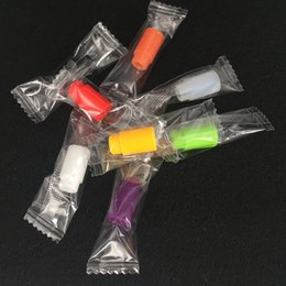 Punte di gocciolamento nautilus online-Vaporizzatore silicone Drip Tip 510 Silicon Bocchino Copri test di gomma Suggerimenti Tester colorato monouso drip tips per e cigs topbox nautilus