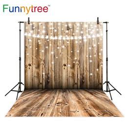 2019 computador, pintado, fundos Funnytree fotografia de casamento pano de fundo parede de madeira glitter bokeh brilhante aniversário fundo foto estúdio photobooth foto prop