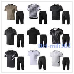 2019 trajes de polo 2019 20 Juventus Soccer Polo Traje de entrenamiento Juventus Conjuntos de chándal POLO Traning Jersey Soccer Pantalones Fútbol Polos trajes de polo baratos