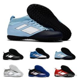 venda de botas de futebol frete grátis Desconto Novo Barato Ás 17.3 Primemesh Tf Sapatos de Futebol de Moda Venda Quente Dos Homens de Futebol Sapatos Botas de Futebol dos homens 40-45 Frete Grátis