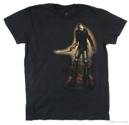 robô preto Desconto Black Sabbath Ressurreição Robot Black T Shirt Oficial Novo Macio
