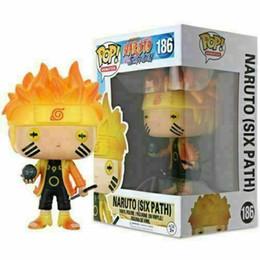 Presente NOVA CHEGADA Naruto (Six Path) # 186 Funko Pop Vinil Figura NARUTO Shippuden Toy presente Xmas de Fornecedores de homem de boneca vermelha