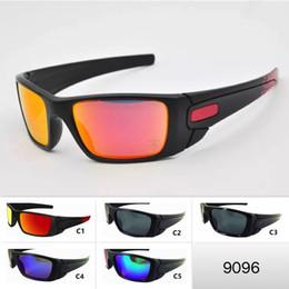 cool mens sport sonnenbrille Rabatt 5 Farben Herren Sport Sonnenbrille Cool Big Frame Outdoor O Brillen 9096 Motorrad Brillen Unisex Sonnenbrille Radfahren Brillen