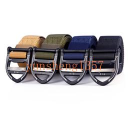 2019 Aire libre Tácticas masculinas Cinturón de nylon ajustable Múltiples funciones Cinturones de cintura Hombre Casual Lona Accesorios de entrenamiento - LOGOTIPO personalizado desde fabricantes