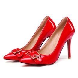 2019 zapatos de noche para mujer Hot Womens Ladies Court Shoes Stilettos tacones altos del partido puntiagudo sandalias de noche Bombas S1019 EE.UU. Reino Unido EUR Tamaño personalizado rebajas zapatos de noche para mujer