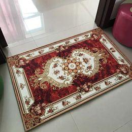 alfombras de lujo Rebajas Europea y americana de lujo Free Style a mano Alfombra de forma rectangular alfombras que se utilicen en la puerta de la estera de baño alfombra