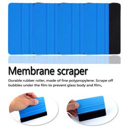 auto vinyl blau Rabatt Autofilzrakel Vinylfolie Wrap Blau Schaber Werkzeuge Auto Aufkleber Werkzeug Auto Änderung Styling Zubehör HHA85