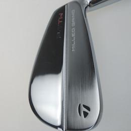 Set di golf di grafite online-P7TW Golf Irons P 7TW Mazze da golf Ferro 3-9.P 8 pezzi Albero in grafite nero acciaio Driver Fairway legni Set di putter di salvataggio con cuneo ibrido