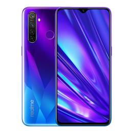 """k1 téléphones cellulaires Promotion Realme d'origine Q 4G LTE Cell Phone 8 Go de RAM 128Go ROM Snapdragon 712 Octa de base 6.3"""" écran 48MP plein d'empreintes digitales Face ID Smart Mobile Téléphone"""