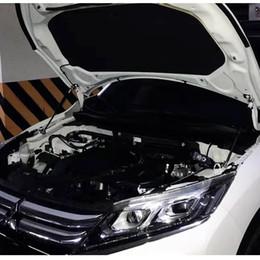 2019 стальная заслонка Оптовая углеродистая сталь 2xhood демпфер лифт поддержка стержень гидравлический Jackstay автомобильные аксессуары для Mitsubishi eclipse cross Ab 2018 дешево стальная заслонка