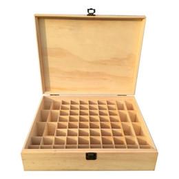 AUGKUN 68-решетки деревянные эфирное масло Эфирное масло деревянная коробка для хранения коробка подарка твердой древесины мульти-площади cheap gift box grid от Поставщики сетка подарочной коробки