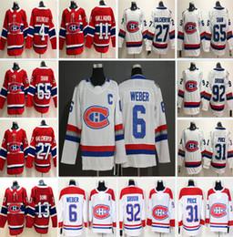 7f79fd3c8 Customized Montreal Canadiens 13 Max Domi 31 Carey Price 6 Shea Weber 92  Jonathan Drouin Brendan Gallagher Tomas Tatar Men Women Kid Jerseys