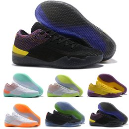 timeless design 60370 c7d2a 2019 chaussures de basket kobe hommes 360 ad nxt ep multi-couleur  réagissent en noir nous taille 7 8 9 10 11 12 kobe shoes size 11 ? vendre