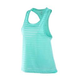 Blusas femininas apertadas on-line-Novas Mulheres Sexy Fitness Apertado Esporte Yoga Camisa Dry Fit Sem Mangas Sportswear Blusas Em Execução Colete Treino Top Colheita Feminino T-shirt