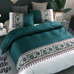 6 Renkler Ile Orkide Çiçek Desen Baskılı Nevresim Set Yastık Kılıfı 8 Boyutu Tek / Çift / Tam / Kraliçe / Kral Yatak Takımları supplier single bedding sets nereden tek kişilik yatak takımları tedarikçiler