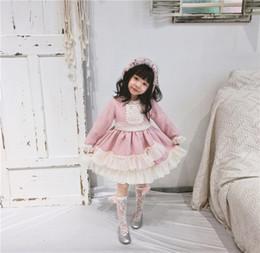 chicas tutu hace mucho tiempo Rebajas Vestidos de niña para niños Vestidos de princesa para bebés Falda de encaje sólido Volver Gran lazo de manga larga cuello redondo Tutu 6