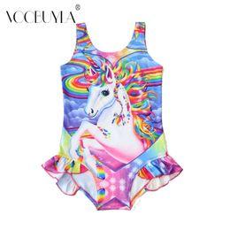 871f07cb95cd0 Voobuyla Kids Bathing Suit Girls One Piece Swimsuit Annimal Cartoon Bikini  2018 Children Swimwear For Girls Infant Swimsuit 2-6T