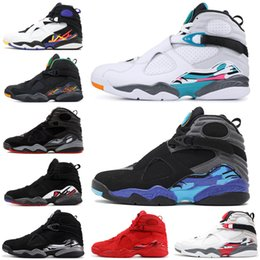 7ecbe9fa5f2 2019 Basketball Shoes 8 8s for men Valentines day Aqua Chrome Countdown Pack  SOUTH BEACH PLAYOFF Mens Trainer Sports Sneaker 7-13 valentines day  basketball ...