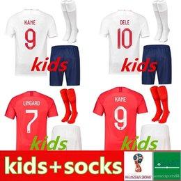 2020 futbol rooney Camisa kit de niños Inglaterra camiseta de fútbol ROONEY KANE de STURRIDGE STERLING HENDERSON Vardy camisetas de los muchachos jóvenes Fútbol CALCIO futbol rooney baratos