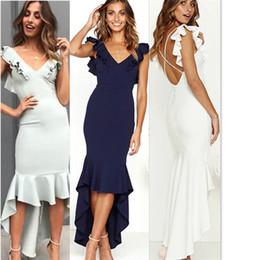 Da Donna Bodycon monospalla vestito donna party sera mini abito Taglia 6-14 UK