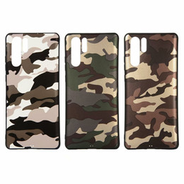 Army Camouflage Case For Huawei P30 P20 Mate 20 Pro P10 Lite Y6 Prime 2019  Soft TPU Slim Camo Back Phone Cover