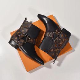 Wholesale luxeLouisvuittongucciLes femmes chaussures habillées mode casual chaussures high top coach course de sport classique boîte d origine a1