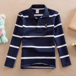 c32aeaaebe3 good quality Boys Cotton T-shirt Spring Autumn Children Casual Striped Long  Sleeve Shirt Tops For Baby Boys Kids Sports Tees Clothes