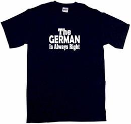 Escolha tamanho jersey on-line-O alemão é sempre direito t-shirt dos homens Pick tamanho cor pequeno - 6XL jersey impressão t-shirt