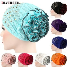 Chapéu islâmico das mulheres on-line-Cap Heap mulheres macias Caps confortáveis islâmica Quimioterapia Hat muçulmana Lenço Pilha