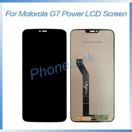 2019 iphone 4s schwarz Für Motorola Moto G7 Netz XT1955 LCD Display Touchscreen Digitizer Sensor kompletten LCD-Versammlungs-Reparatur-Teil für Moto G7 Power LCD-Bildschirm
