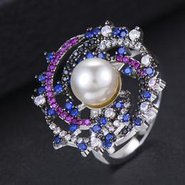 verlobungsringe dubai Rabatt GODKI Monaco Design Luxus Aussage Stapelbarer Ring Für Frauen Hochzeit Kubikzircon Engagement Dubai Punk Braut Top Fingerringe