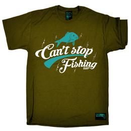 Женская рубашка онлайн-Fishing Cant Stop Рыбалка рыболовная удочка катушка забавный День Рождения футболка Мужчины Женщины Мужская Мода футболка Бесплатная Доставка