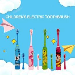 Por Atacado Escova De Dentes Dos Desenhos Animados Das Criancas