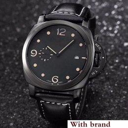 Canada bracelet en cuir lumineux mouvement de quartz des hommes de luxe montre super fashion montre style décontracté Offre