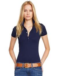 англия дизайн рубашки поло Скидка 2019 новый дизайн летняя мода англия женская клетчатая футболка с коротким рукавом 100% хлопок вышивка логотип рубашка поло чистый трой