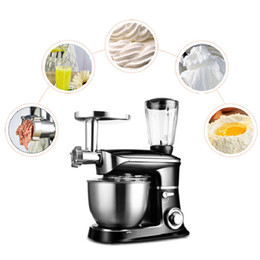 Мешалки онлайн-Beijamei Хлебобулочные тестомесильные яйца Блендер 6.5L Кухонная подставка Пищевая смесь для приготовления молочного коктейля / торта соковыжималка для мясорубки
