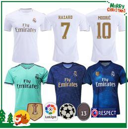 19 20 Maillot de football madrid réel Benzema JOVIC MILITAO Modric Ramos Bale HAZARD 2019 2020 adulte homme femme enfants garçon sport maillot ? partir de fabricateur
