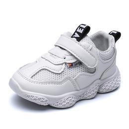 Chaussures garçons ans en Ligne-Chaussures bébé Chaussures anti-dérapantes 2019 Spring Sneakers Garçons et Filles 1-3 ans Enfants Course à pied Bébé en bas âge Marée