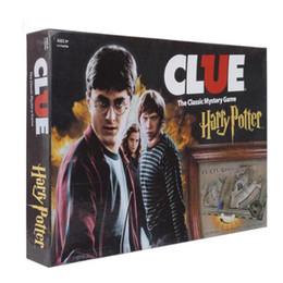 2019 Vendita calda Indizio Harry Potter Gioco da tavolo Action Figures Edizione da collezione Nuovissimo set sigillato Gioco di stregoneria Collezione di carte Kit di giocattoli da