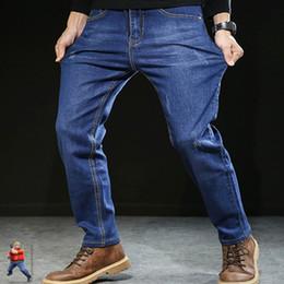 2019 calca jeans Herren Calca Masculina Herrenhose Blau Herren Jeans PLus Größe 250 # günstig calca jeans
