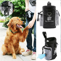 borse per animali Sconti Pet Dog Puppy Snack Bag Waterproof Obedience Hands Free Agility Bait Food Training Treat Pouch Train Pouch Purse LJJA3550