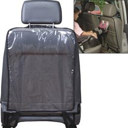 2019 fundas de asiento de coche bordadas Accesorios interiores Automóviles Fundas de asiento VODOOL Cubierta del respaldo del asiento de automóvil Protector para niños Niños Bebé Patada de patada De Mud Dirt Clean Car