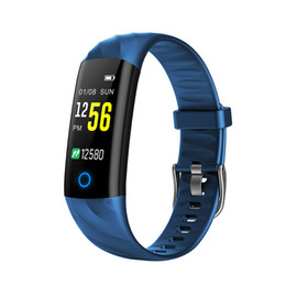 bracelete do rastreador Desconto Inteligente Pulseira IP67 Waterproof nadada Aptidão Rastreador Health Monitor Cardíaca Pressão Arterial oxigênio do sangue etapa Calorie Counter