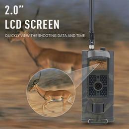 cámara gsm al aire libre Rebajas HC700G 16MP 3G SMS GSM Caza Cámara Al aire libre Trail Cámara Fauna silvestre Esculturas fotográficas Cámaras Visión nocturna Salvaje