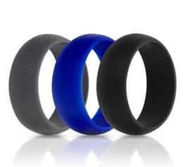 dual-chip-handys Rabatt Luxus Silikon Hochzeit Ringe Frauen Hypoallergen O-ring Band Komfortable Lightweigh Männer Ring für Paar Ringe