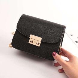 корейская сумочка красного цвета Скидка Новые модные женские сумки, простые ретро корейские версии сумка, цепочка женщина квадратная сумка красный черный зеленый