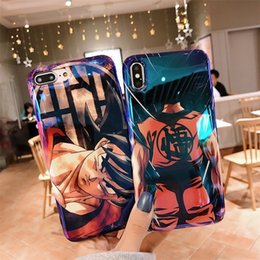 il telefono più sottile oppo Sconti Dragon Ball Z Super DBZ Goku Moda Coque per iPhone 11 XR XS MAX 8plus 8 7plus 7 6 6s più Case Cover
